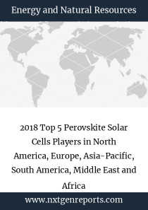2018 Top 5 Perovskite Solar Cells Players in North America, Europe, Asia-Pacific, South America, Middle East and Africa