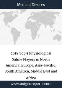 2018 Top 5 Physiological Saline Players in North America, Europe, Asia-Pacific, South America, Middle East and Africa
