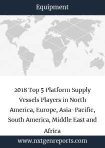2018 Top 5 Platform Supply Vessels Players in North America, Europe, Asia-Pacific, South America, Middle East and Africa