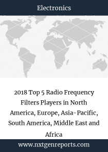 2018 Top 5 Radio Frequency Filters Players in North America, Europe, Asia-Pacific, South America, Middle East and Africa