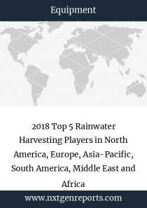 2018 Top 5 Rainwater Harvesting Players in North America, Europe, Asia-Pacific, South America, Middle East and Africa