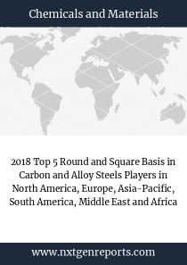 2018 Top 5 Round and Square Basis in Carbon and Alloy Steels Players in North America, Europe, Asia-Pacific, South America, Middle East and Africa