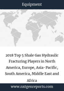 2018 Top 5 Shale Gas Hydraulic Fracturing Players in North America, Europe, Asia-Pacific, South America, Middle East and Africa