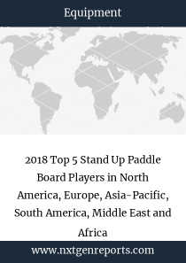2018 Top 5 Stand Up Paddle Board Players in North America, Europe, Asia-Pacific, South America, Middle East and Africa