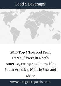 2018 Top 5 Tropical Fruit Puree Players in North America, Europe, Asia-Pacific, South America, Middle East and Africa