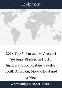 2018 Top 5 Unmanned Aircraft Systems Players in North America, Europe, Asia-Pacific, South America, Middle East and Africa