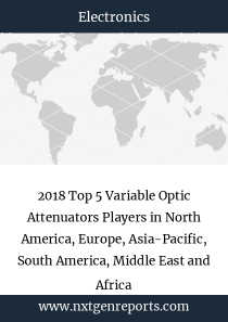 2018 Top 5 Variable Optic Attenuators Players in North America, Europe, Asia-Pacific, South America, Middle East and Africa