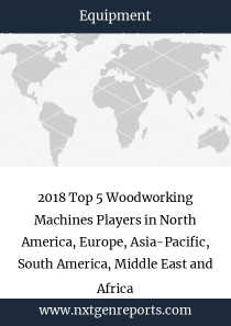 2018 Top 5 Woodworking Machines Players in North America, Europe, Asia-Pacific, South America, Middle East and Africa