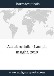 Acalabrutinib - Launch Insight, 2018