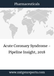 Acute Coronary Syndrome - Pipeline Insight, 2018