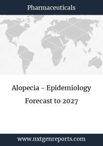 Alopecia - Epidemiology Forecast to 2027