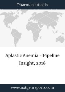 Aplastic Anemia - Pipeline Insight, 2018