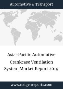 Asia-Pacific Automotive Crankcase Ventilation System Market Report 2019