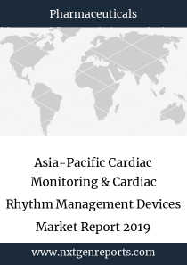 Asia-Pacific Cardiac Monitoring & Cardiac Rhythm Management Devices Market Report 2019