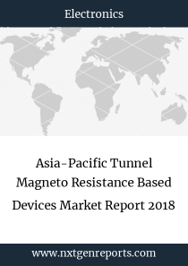 Asia-Pacific Tunnel Magneto Resistance Based Devices Market Report 2018
