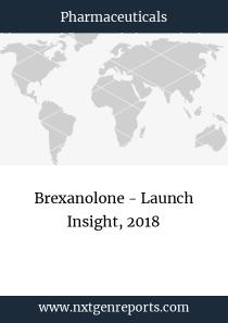 Brexanolone - Launch Insight, 2018