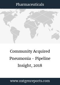 Community Acquired Pneumonia - Pipeline Insight, 2018