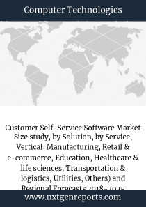 Customer Self-Service Software Market Size study, by Solution, by Service, Vertical, Manufacturing, Retail & e-commerce, Education, Healthcare & life sciences, Transportation & logistics, Utilities, Others) and Regional Forecasts 2018-2025