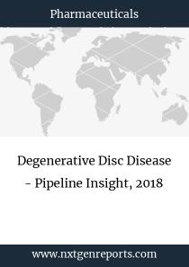 Degenerative Disc Disease - Pipeline Insight, 2018