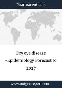 Dry eye disease -Epidemiology Forecast to 2027