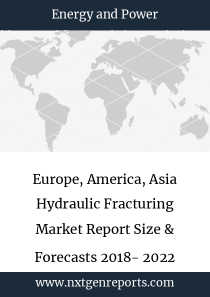 Europe, America, Asia Hydraulic Fracturing Market Report Size & Forecasts 2018- 2022