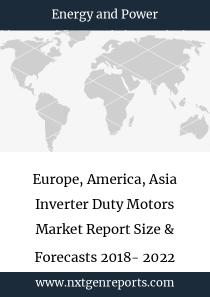 Europe, America, Asia Inverter Duty Motors Market Report Size & Forecasts 2018- 2022