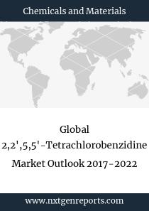 Global 2,2',5,5'-Tetrachlorobenzidine Market Outlook 2017-2022