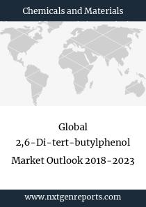 Global 2,6-Di-tert-butylphenol Market Outlook 2018-2023