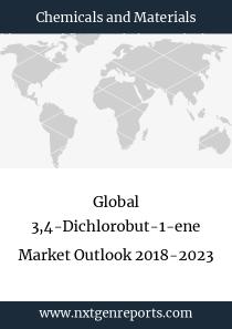 Global 3,4-Dichlorobut-1-ene Market Outlook 2018-2023