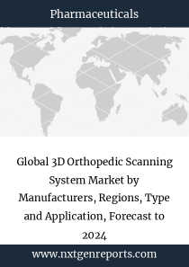 Global 3D Orthopedic Scanning System Market by Manufacturers, Regions, Type and Application, Forecast to 2024