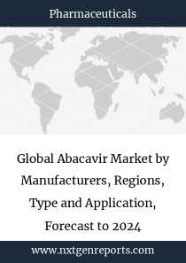 Global Abacavir Market by Manufacturers, Regions, Type and Application, Forecast to 2024