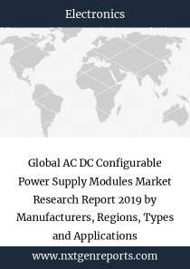 Global AC DC Configurable Power Supply Modules Market Research Report 2019 by Manufacturers, Regions, Types and Applications