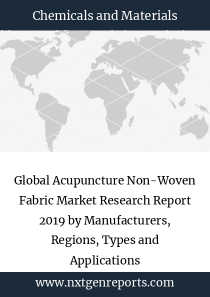 Global Acupuncture Non-Woven Fabric Market Research Report 2019 by Manufacturers, Regions, Types and Applications