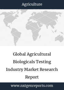 Global Agricultural Biologicals Testing Industry Market Research Report