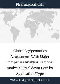 Global Agrigenomics Assessment, With Major Companies Analysis,Regional Analysis, Breakdown Data by Application/Type