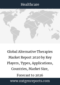Global Alternative Therapies Market Report 2020 by Key Players, Types, Applications, Countries, Market Size, Forecast to 2026