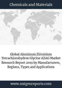 Global Aluminum Zirconium Tetrachlorohydrex Glycine AZAG Market Research Report 2019 by Manufacturers, Regions, Types and Applications