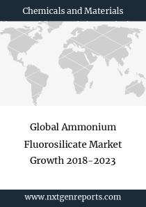 Global Ammonium Fluorosilicate Market Growth 2018-2023
