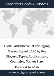 Global Antimicrobial Packaging Market Report 2020 by Key Players, Types, Applications, Countries, Market Size, Forecast to 2026