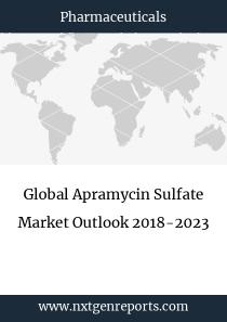 Global Apramycin Sulfate Market Outlook 2018-2023