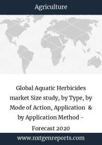 Global Aquatic Herbicides market Size study, by Type, by Mode of Action, Application  & by Application Method - Forecast 2020