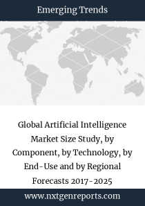 Global Artificial Intelligence Market Size Study, by Component, by Technology, by End-Use and by Regional Forecasts 2017-2025