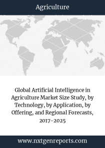 Global Artificial Intelligence in Agriculture Market Size Study, by Technology, by Application, by Offering, and Regional Forecasts, 2017-2025
