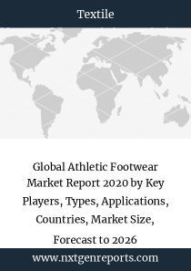 Global Athletic Footwear Market Report 2020 by Key Players, Types, Applications, Countries, Market Size, Forecast to 2026