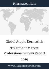 Global Atopic Dermatitis Treatment Market Professional Survey Report 2019