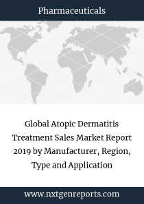 Global Atopic Dermatitis Treatment Sales Market Report 2019 by Manufacturer, Region, Type and Application