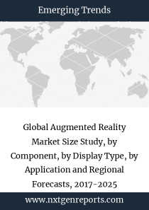 Global Augmented Reality Market Size Study, by Component, by Display Type, by Application and Regional Forecasts, 2017-2025