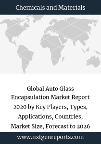 Global Auto Glass Encapsulation Market Report 2020 by Key Players, Types, Applications, Countries, Market Size, Forecast to 2026