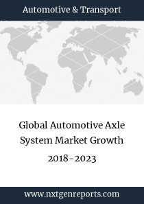 Global Automotive Axle System Market Growth 2018-2023