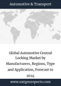 Global Automotive Central Locking Market by Manufacturers, Regions, Type and Application, Forecast to 2024
